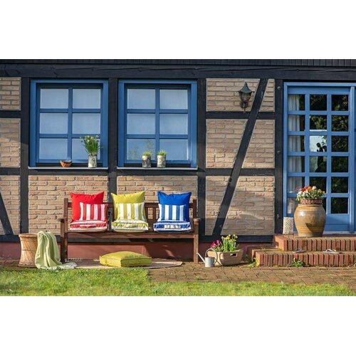 H.O.C.K. Classic Uni Outdoor Kissen 50x50cm royal blau
