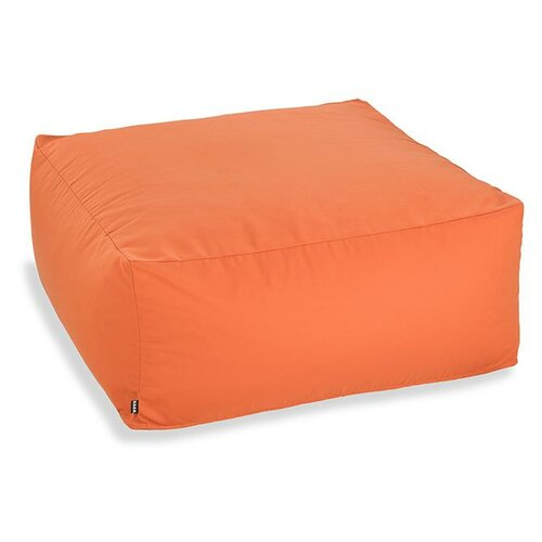 H.O.C.K. Classic Uni Outdoor Loungehocker 90x90x40cm orange, coral