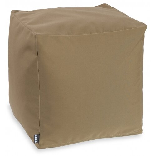 H.O.C.K. Classic uni Outdoor Bean Cube 40x40x40cm tabacco