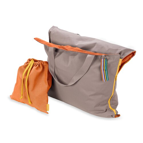Hhooboz Pillowbag L sand/orange
