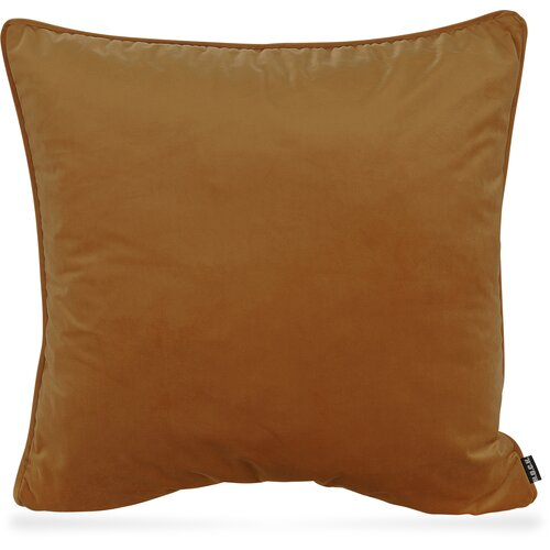 H.O.C.K. Nobile Samt Kissen 60x60cm honey-orange 105 terra orange