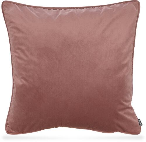 h o c k nobile samt kissen 60x60cm salmon 615 lachs 39 00. Black Bedroom Furniture Sets. Home Design Ideas