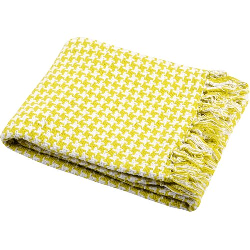 H.O.C.K. Channy Pictave Plaid 130x150cm lime
