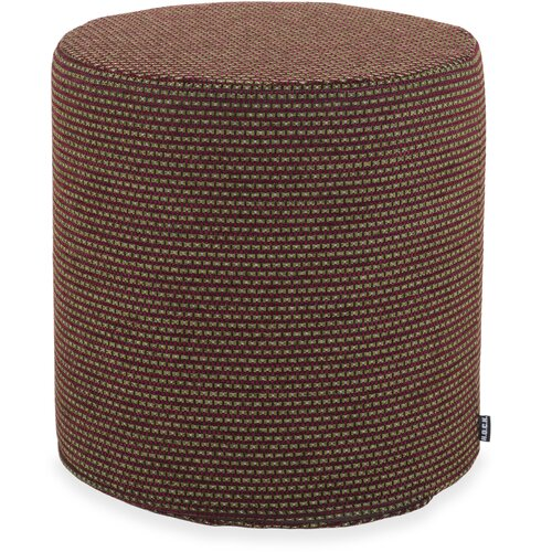 H.O.C.K. Lima Hocker rund ø45x45cm green-bordeaux 7