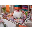 H.O.C.K. Beach Life Outdoor Kissen 50x50cm Flower mit Biese