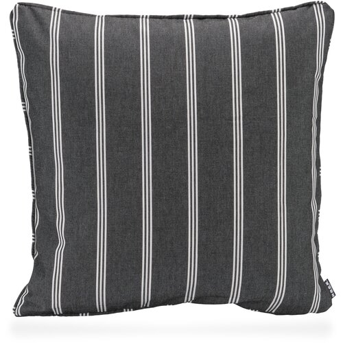 H.O.C.K. New England Outdoor Kissen mit Keder 50x50cm black stripes