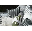 H.O.C.K. New England Outdoor Kissen mit Keder 50x50cm white stripes