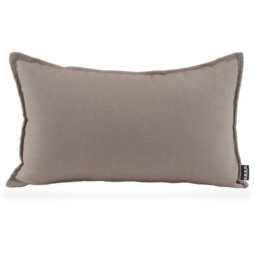 H.O.C.K. Caribe Outdoor Kissen 50x30cm taupe-tabacco 01