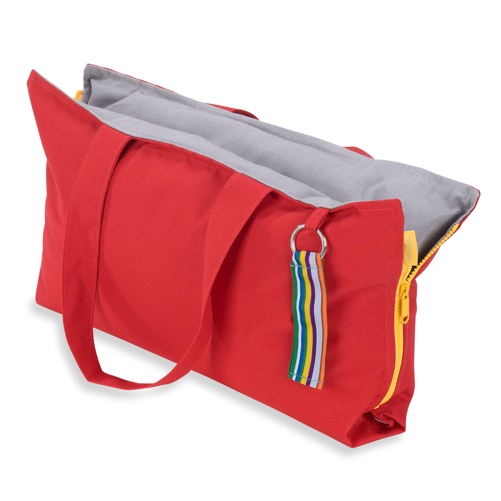 Hhooboz Pillowbag S red-grey