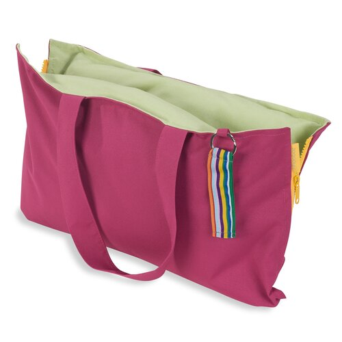 Hhooboz Pillowbag S fandango-pink-green