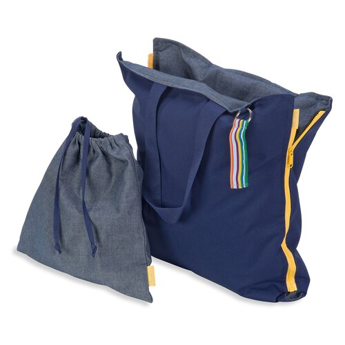 Hhooboz Pillowbag M navy-navy