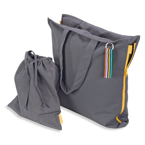 Hhooboz Pillowbag M smoke-smoke