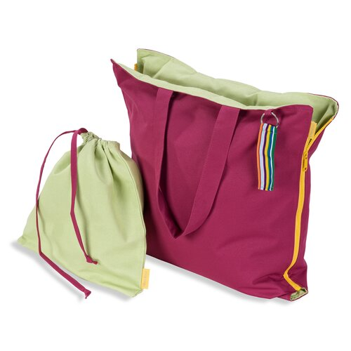 Hhooboz Pillowbag M fandango-pink-green