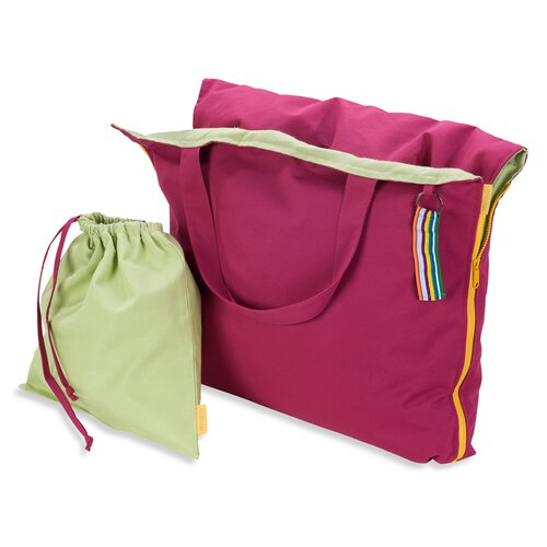 Hhooboz Pillowbag L fandango-pink-green