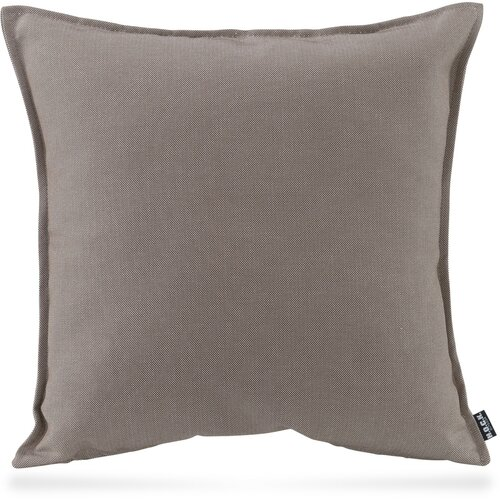 H.O.C.K. Caribe Outdoor Kissen 60x60cm taupe-tabacco 01